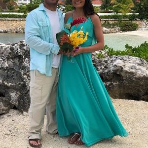 Turquoise Bridesmaid Dress